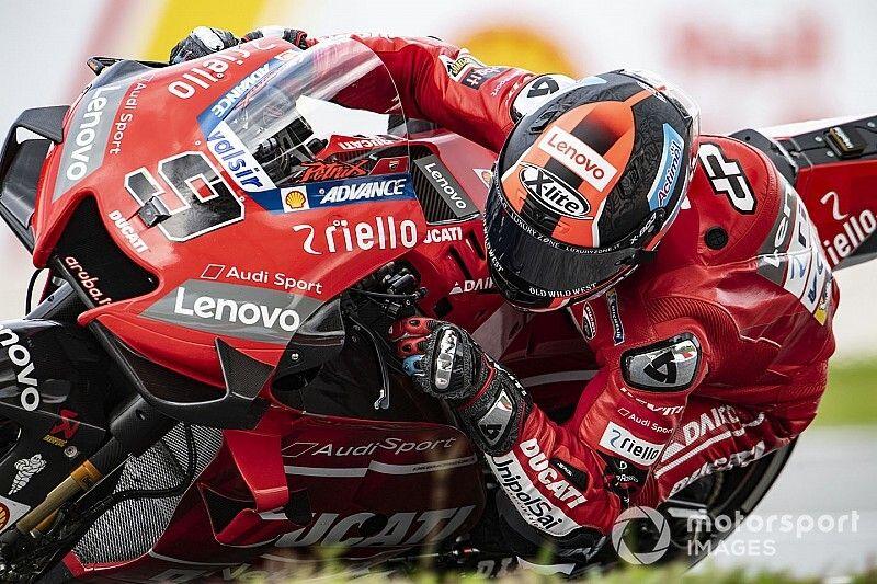 """Petrucci: """"Ducati trabaja día y noche en la moto del año que viene"""""""