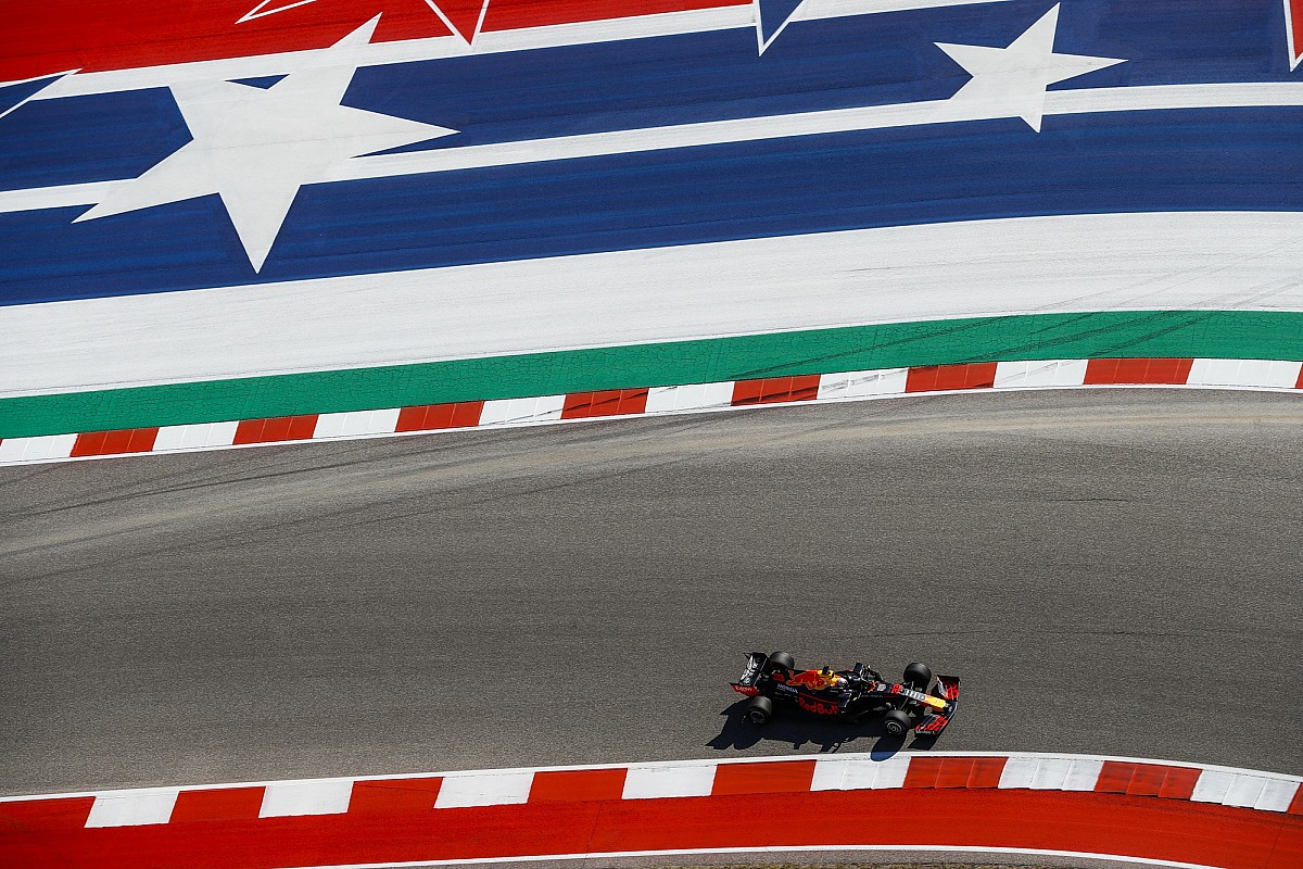 美国大奖赛FP1:维斯塔潘领跑时间榜