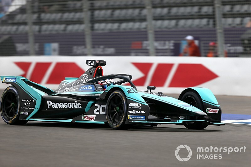 """Fórmula E: Evans fica """"furioso"""" por largar em último após erro da Jaguar"""