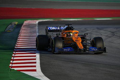 """Norris apprécie le côté moins """"nerveux"""" de sa McLaren"""