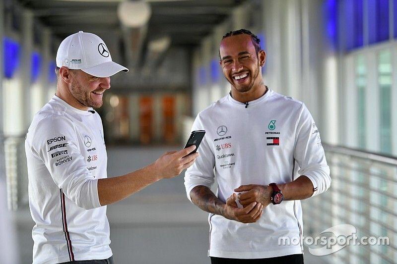 """Hamilton-Bottas, un duo """"sensationnel"""" pour Mercedes"""