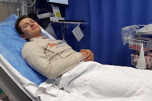 Hazelwood taken to hospital after Bathurst crash