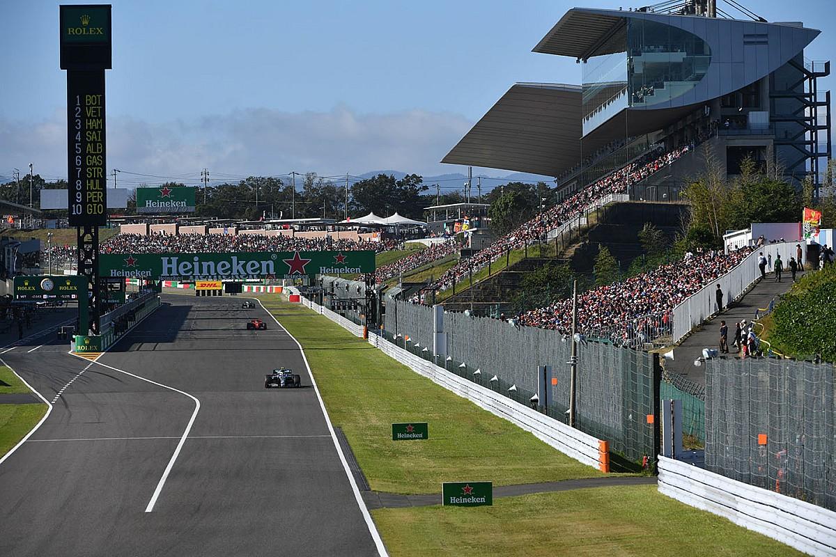 El vuelta a vuelta animado del emocionante GP de Japón