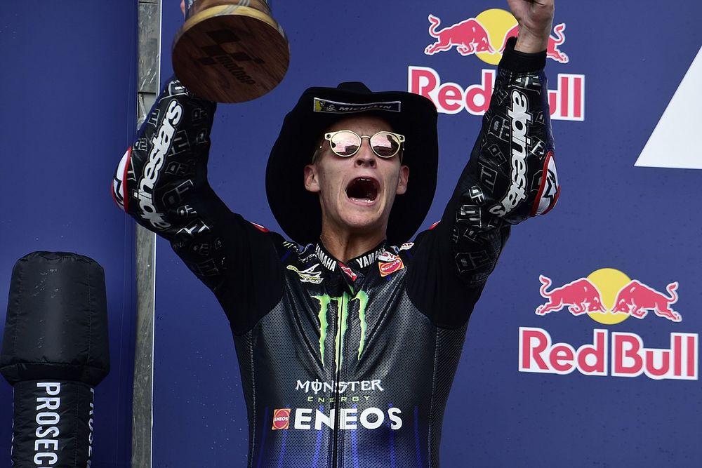 """Quartararo : Le """"meilleur podium"""" de 2021 malgré un contexte difficile"""