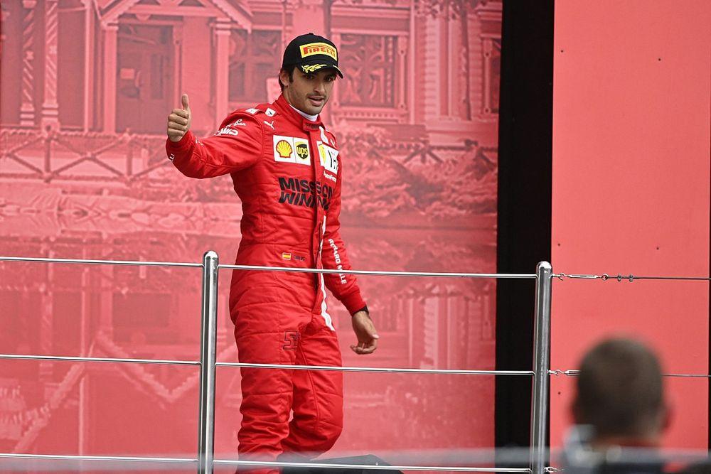 Sainz: Ez volt a legjobb hétvégém a Ferrarinál