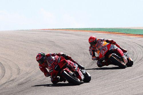 MotoGP: Márquez ainda não está pronto para disputas roda a roda