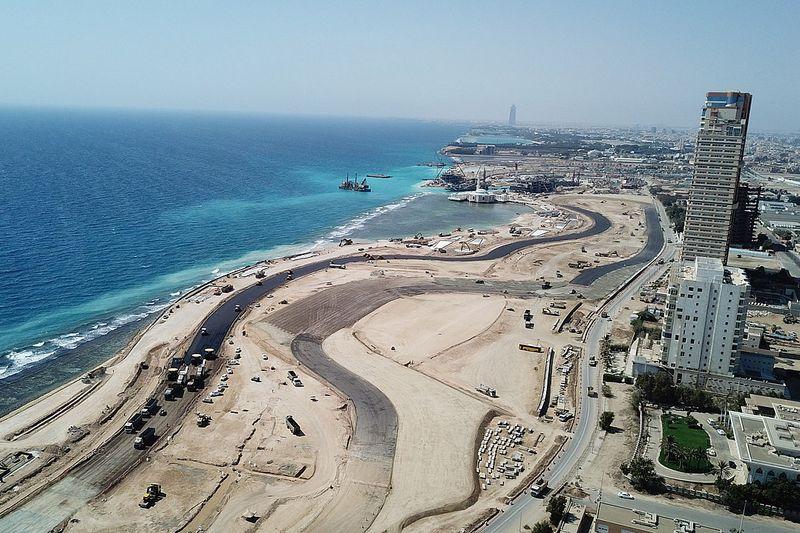 F1-circuit Jeddah wordt niet alleen spectaculair, maar ook duurzaam