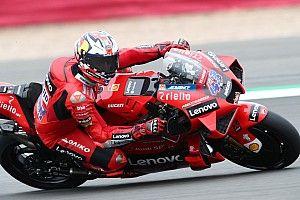 Miller topt derde training op Silverstone, Rossi naar Q2