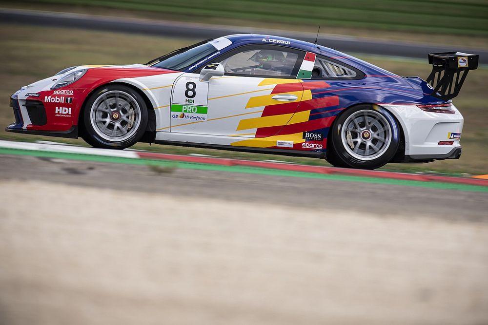 Carrera Cup Italia, per Cerqui sarà esordio in casa a Franciacorta!