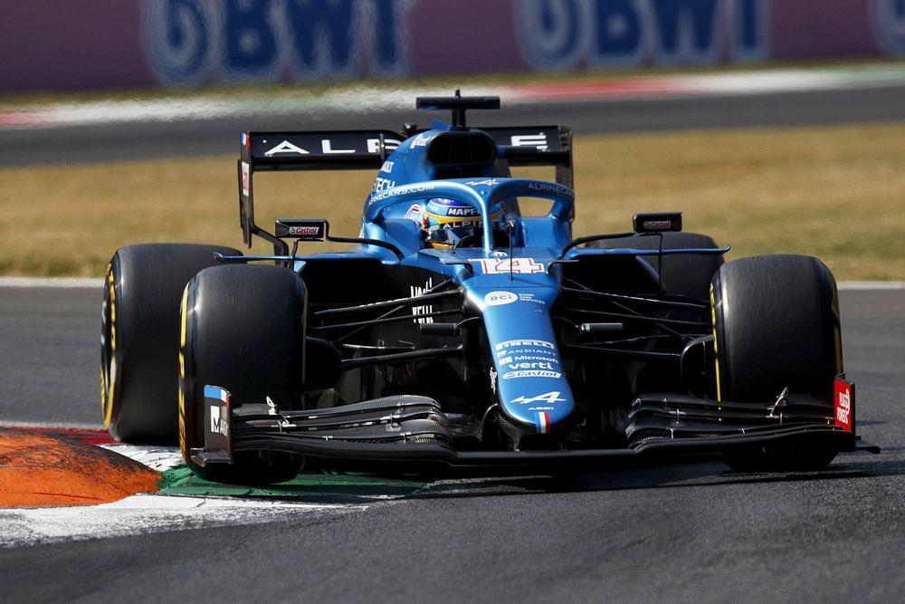 """Alonso: """"Tek turluk sıralama turlarını getirmek, sprint yarışına yardım edebilir"""""""