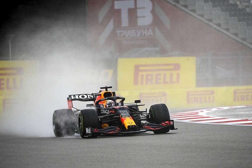 """Verstappen: """"Fortunati con la pioggia? No, opportunisti!"""""""