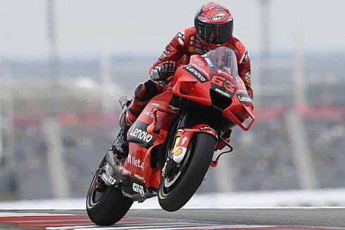 MotoGP: Bagnaia conquista terceira pole consecutiva e larga da ponta no GP das Américas