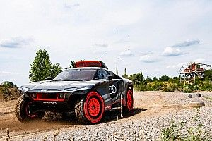 RS Q E-tron Senjata Audi yang Rumit untuk Dakar 2022