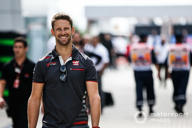 "Grosjean ""on thin ice"" with race ban threat - Haas"