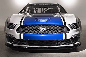 Ford unveils new NASCAR Mustang for 2019 Cup