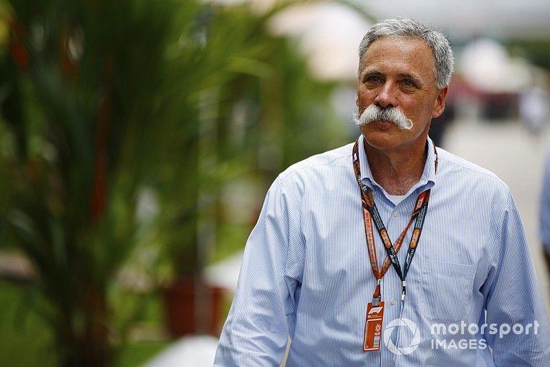 Carey defiende el patrocinio global de apuestas de la F1