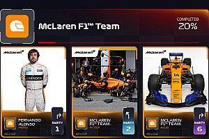 У Ф1 появилась мобильная игра, в которой нужно коллекционировать карточки