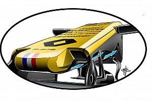 Formel-1-Technik: Der neue S-Schacht von Renault