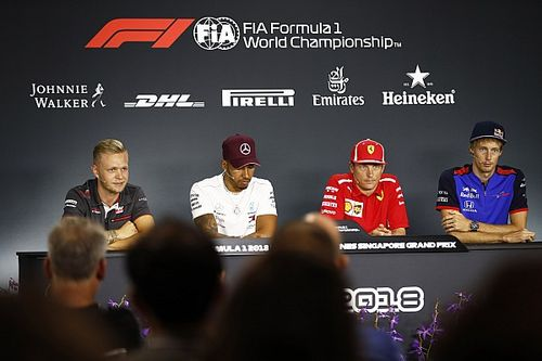 Singapore GP: Thursday's press conference
