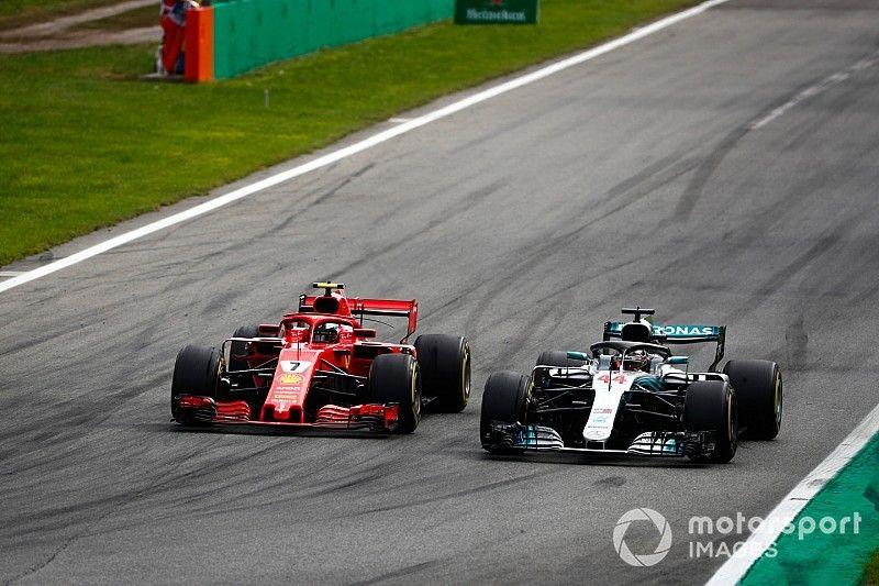 Mercedes busca respuestas al enigma de la velocidad punta de Ferrari