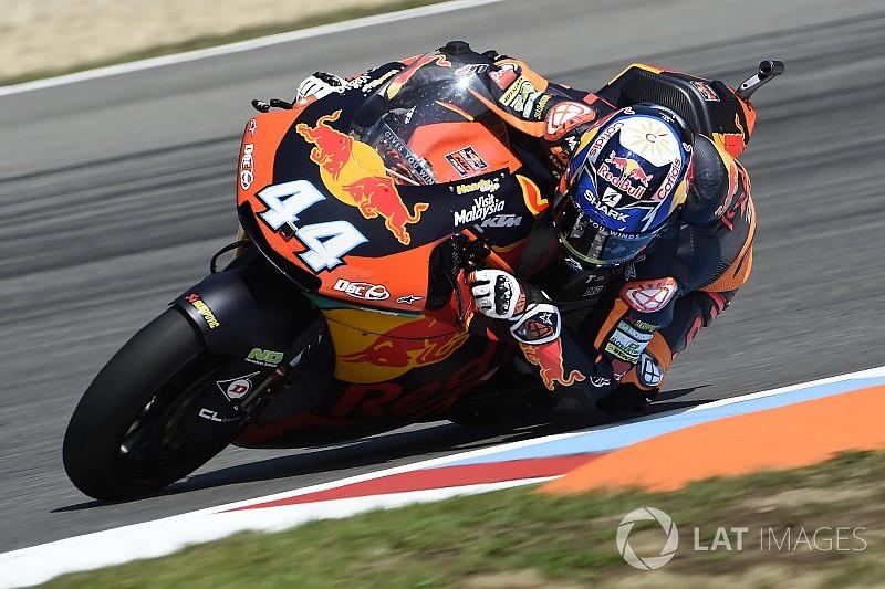 Oliveira le ganó el duelo a Marini y es nuevo líder de Moto2