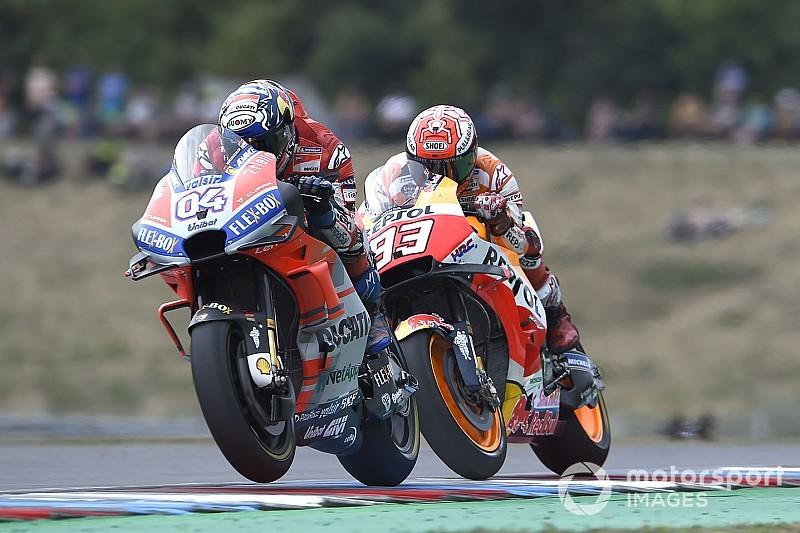 """Dovizioso: """"Io e Lorenzo abbiamo dato un segnale importante a Marquez a Brno"""""""