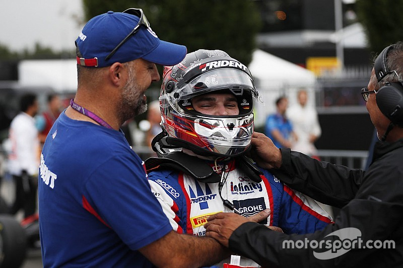 Segunda pole consecutiva de David Beckmann en la GP3