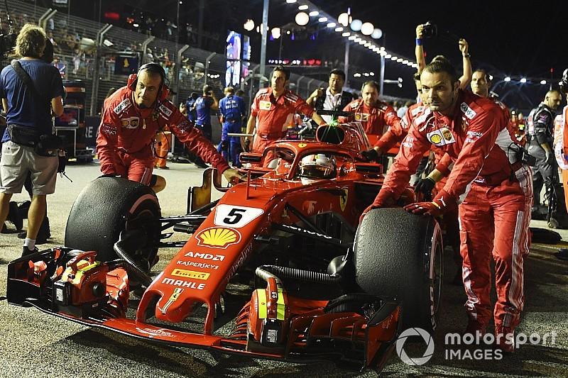 Az F1-es Szingapúri Nagydíj hivatalos időrendje