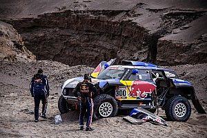 "Sainz blames ""disaster"" Dakar roadbook for accident"