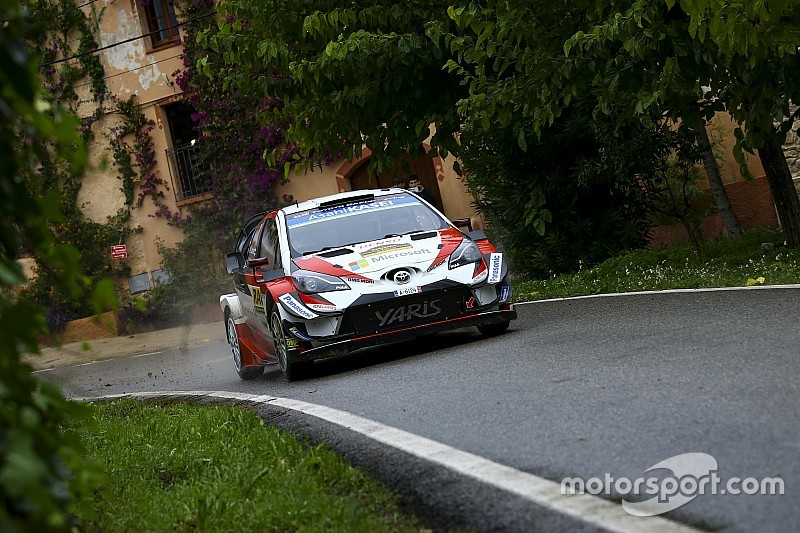Catalunya WRC: Latvala leads Ogier and Loeb into final day