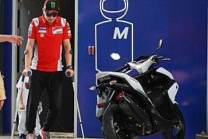 Jorge Lorenzo mundur dari MotoGP Jepang