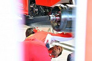 Vettel a abîmé sa Ferrari dans un accident
