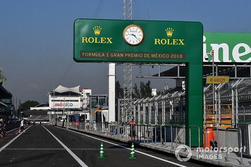 Los Horarios para el GP de México de F1
