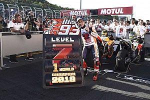 Márquez gana en Japón y el título de MotoGP 2018