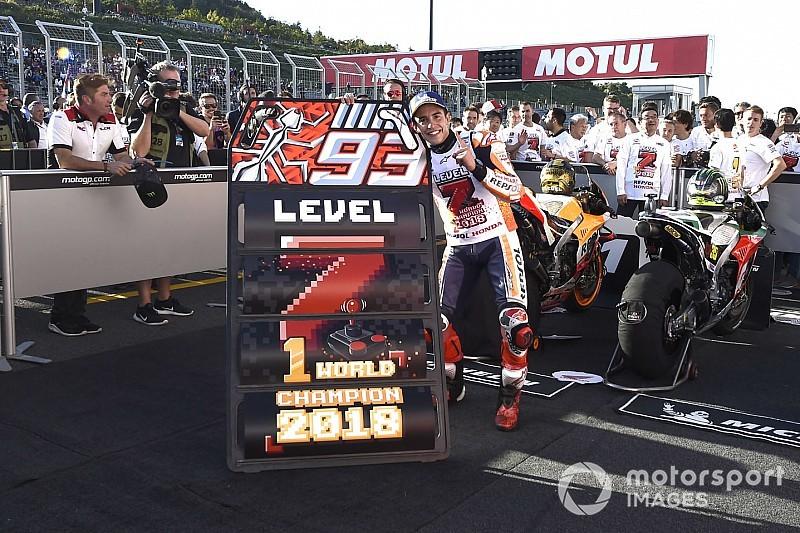 Galería: así ha sido el camino de Márquez hacia su séptimo título