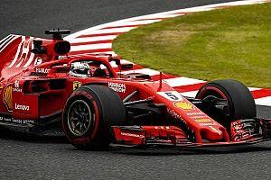 Феттель признал проблемы Ferrari с шинами на Гран При Японии