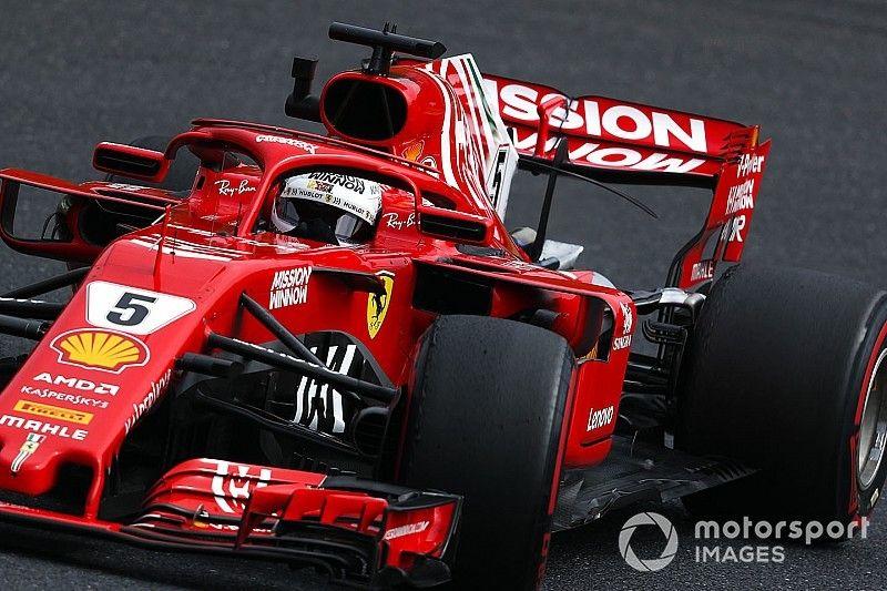 """Vettel difende la Ferrari: """"La scelta delle intermedie? Una decisione condivisa"""""""