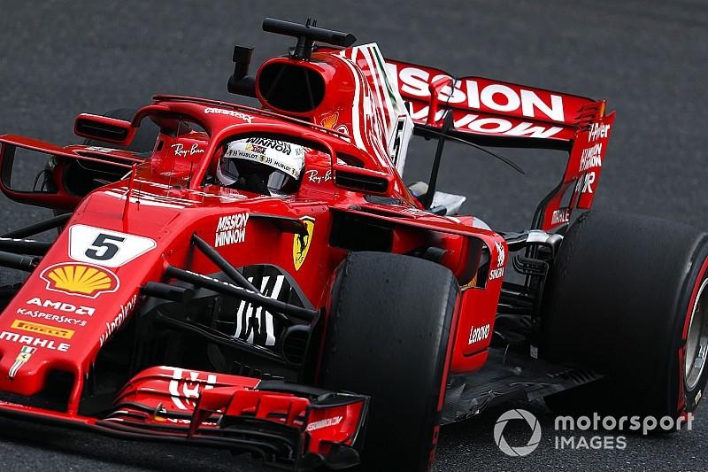 """Vettel sobre la estrategia de Ferrari: """"Yo estaba de acuerdo"""""""