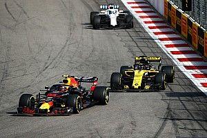 Verstappen debió dejar de atacar para cuidar el motor
