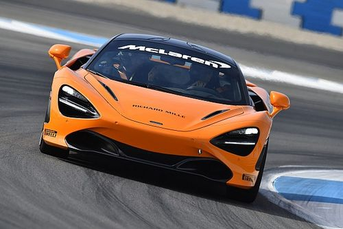 Track test: The supercar McLaren takes racing in 2019
