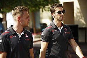 Magnussen: Grosjean, Button'dan daha hızlı