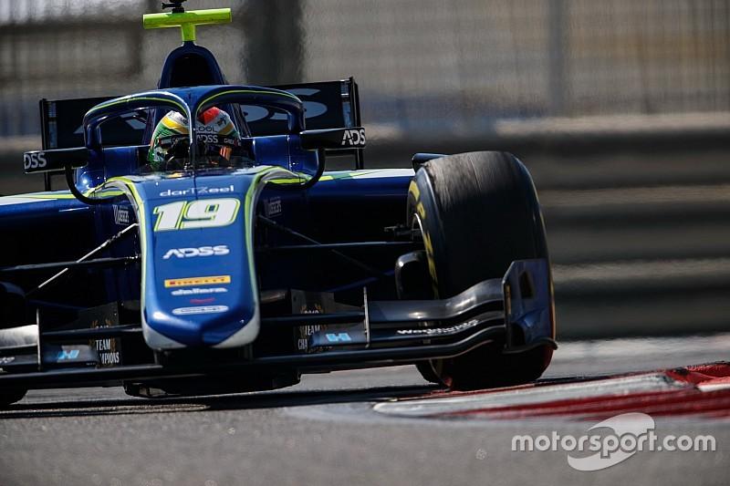 Formel-2-Test in Abu Dhabi: Louis Deletraz zum Abschluss vorn