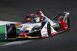 Turbulentes Testrennen in der Formel E: Di Grassi siegt, Abt crasht
