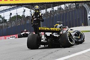 "Hulkenberg: Brazil crash result of ""small error"""
