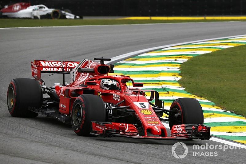 ブラジルFP3:ベッテルがレコード更新でトップ。メルセデスが2-3