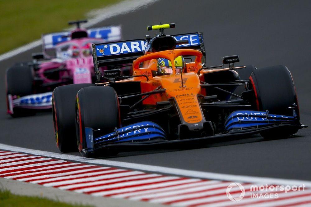 ¿Por qué McLaren no continuará con su apelación sobre Racing Point?