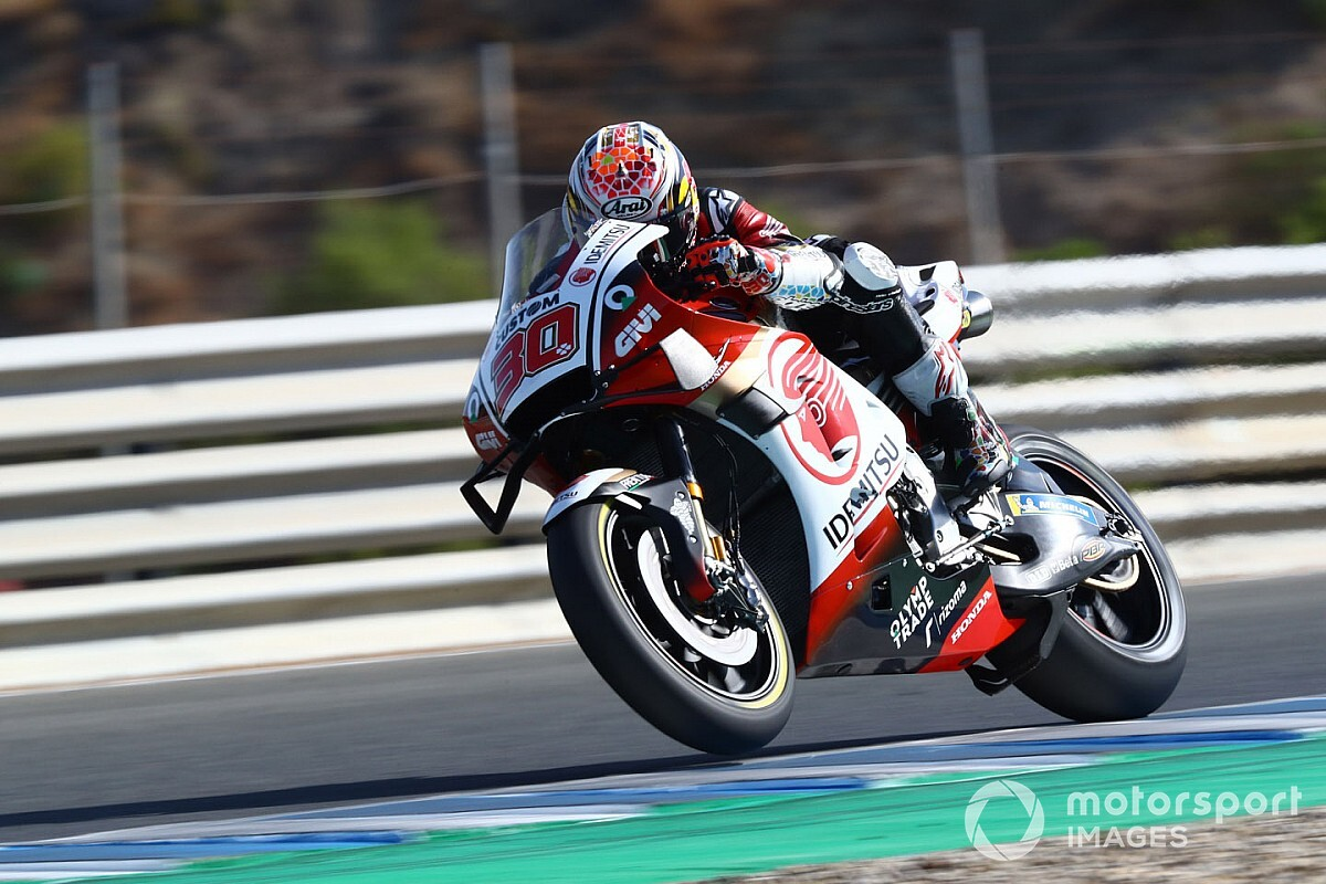 Andalusian GP: Nakagami leads Zarco in second practice