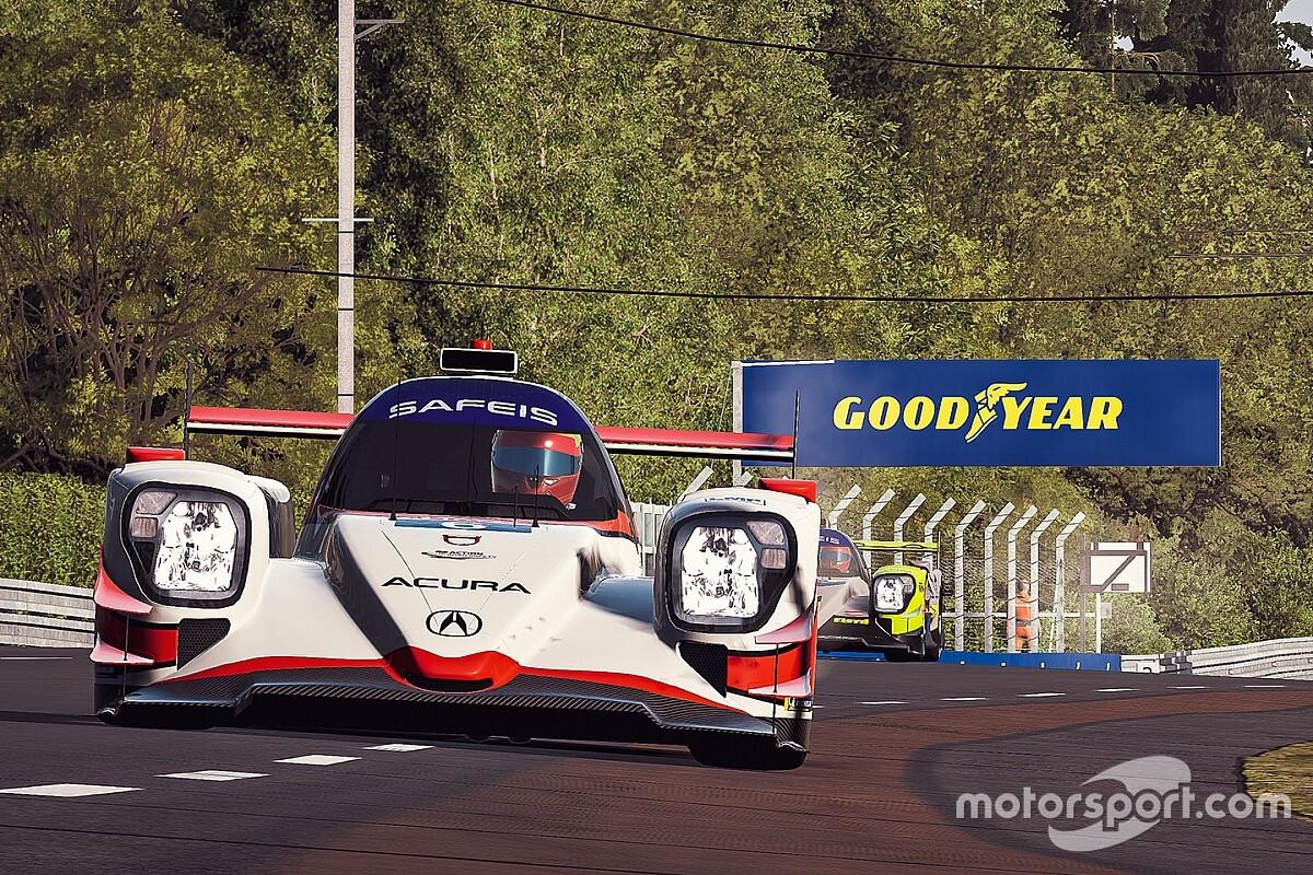 Ilyen egy teljes szimulátorcsere a virtuális Le Mans-on (videó)