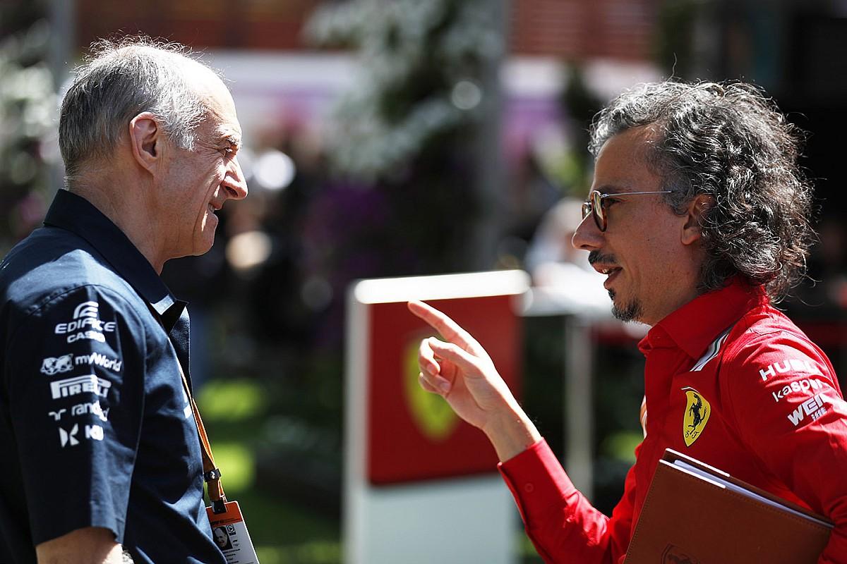 """Tost: """"Şu anda Mercedes en önde, Ferrari üçüncü sırada"""""""