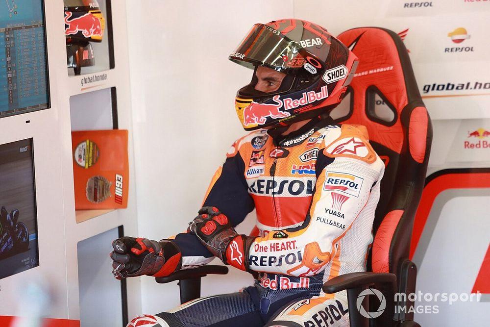 Marquez si arrende: salta il Gran Premio di Andalusia